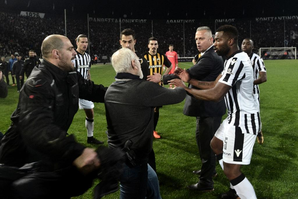 Greek football to resume Saturday - officials