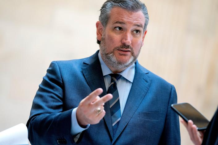<p>Senator Ted Cruz complained that a Latina officer featured in a CIA promo video was 'a long way from Jason Bourne'</p> (Getty Images)
