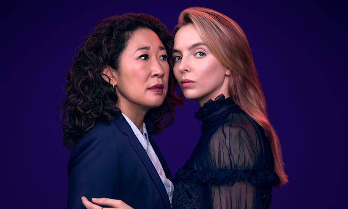 Killing Eve is a Best Drama nominee. (BBC)