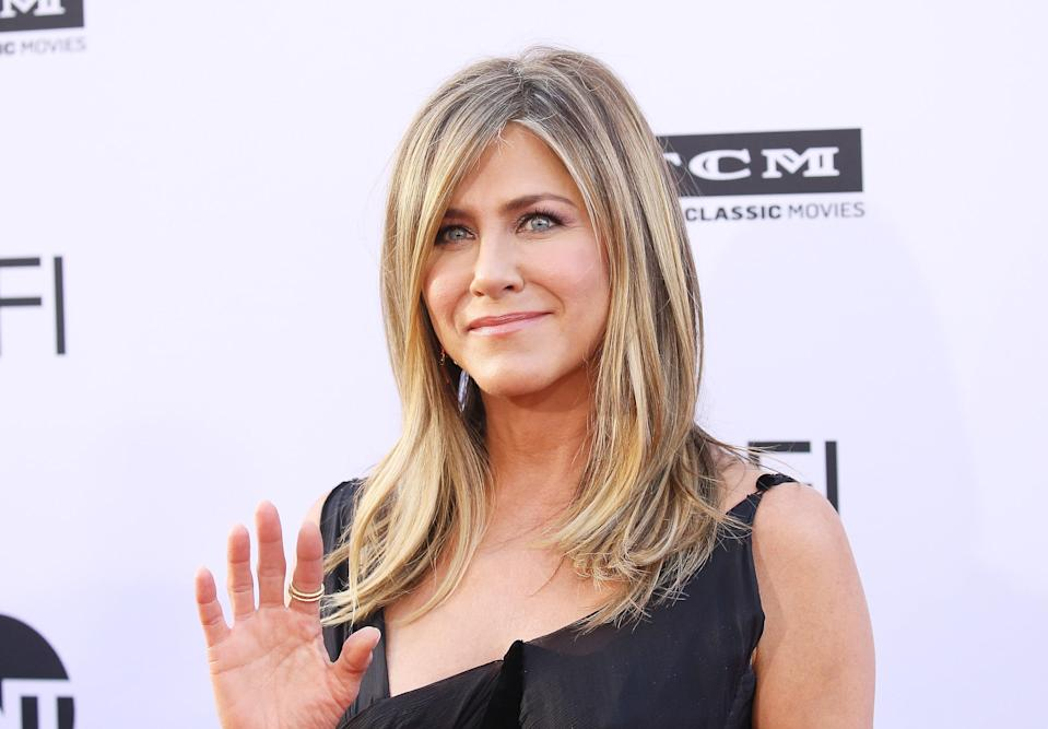 Jennifer Aniston split with second husband Justin Theroux earlier this year. (Photo: Michael Tran/FilmMagic)