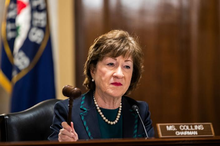 Republican Sen. Susan Collins of Maine was endorsed by Everytown for Gun Safety Action Fund in 2014. This year, the group is backing one of her Democratic challengers. (Photo: ASSOCIATED PRESS)