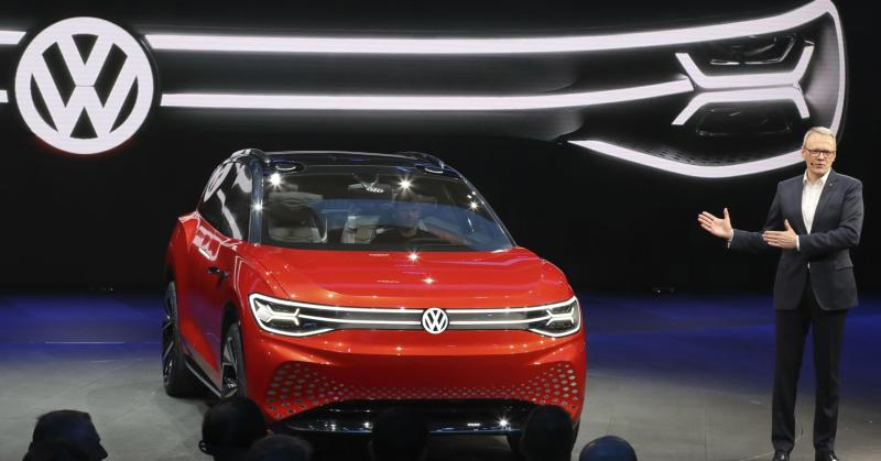 Traditional automakers are making China their launch pad for electric vehicles