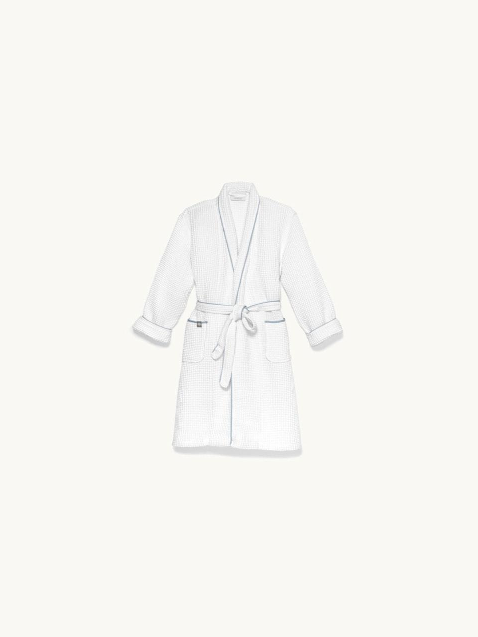 """<h3><a href=""""https://www.bollandbranch.com/products/womens-waffle-robe"""" rel=""""nofollow noopener"""" target=""""_blank"""" data-ylk=""""slk:Boll & Branch Waffle Robe"""" class=""""link rapid-noclick-resp"""">Boll & Branch Waffle Robe</a></h3><br>Described as """"plush"""" and """"super-springy,"""" this waffle-weave robe is crafted from super absorbent materials that are perfect for swaddling any bod post-shower (or bubble bath).<br><br>One reviewer calls it, """"Superb in every way- yummy soft texture washes beautifully, sized properly. I'm lovin' it!""""<br><br><strong>Boll And Branch</strong> Waffle Robe, $, available at <a href=""""https://go.skimresources.com/?id=30283X879131&url=https%3A%2F%2Fwww.bollandbranch.com%2Fproducts%2Fwomens-waffle-robe"""" rel=""""nofollow noopener"""" target=""""_blank"""" data-ylk=""""slk:Boll And Branch"""" class=""""link rapid-noclick-resp"""">Boll And Branch</a>"""