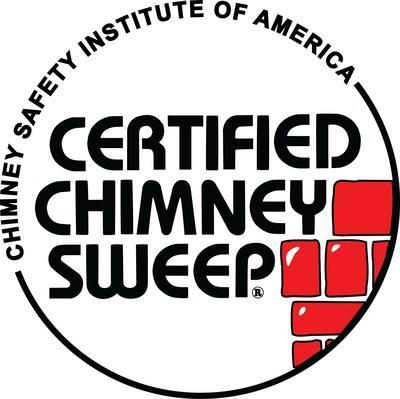 The badge of a Certified Chimney Sweep® (PRNewsfoto/Chimney Safety Institute of Ame)