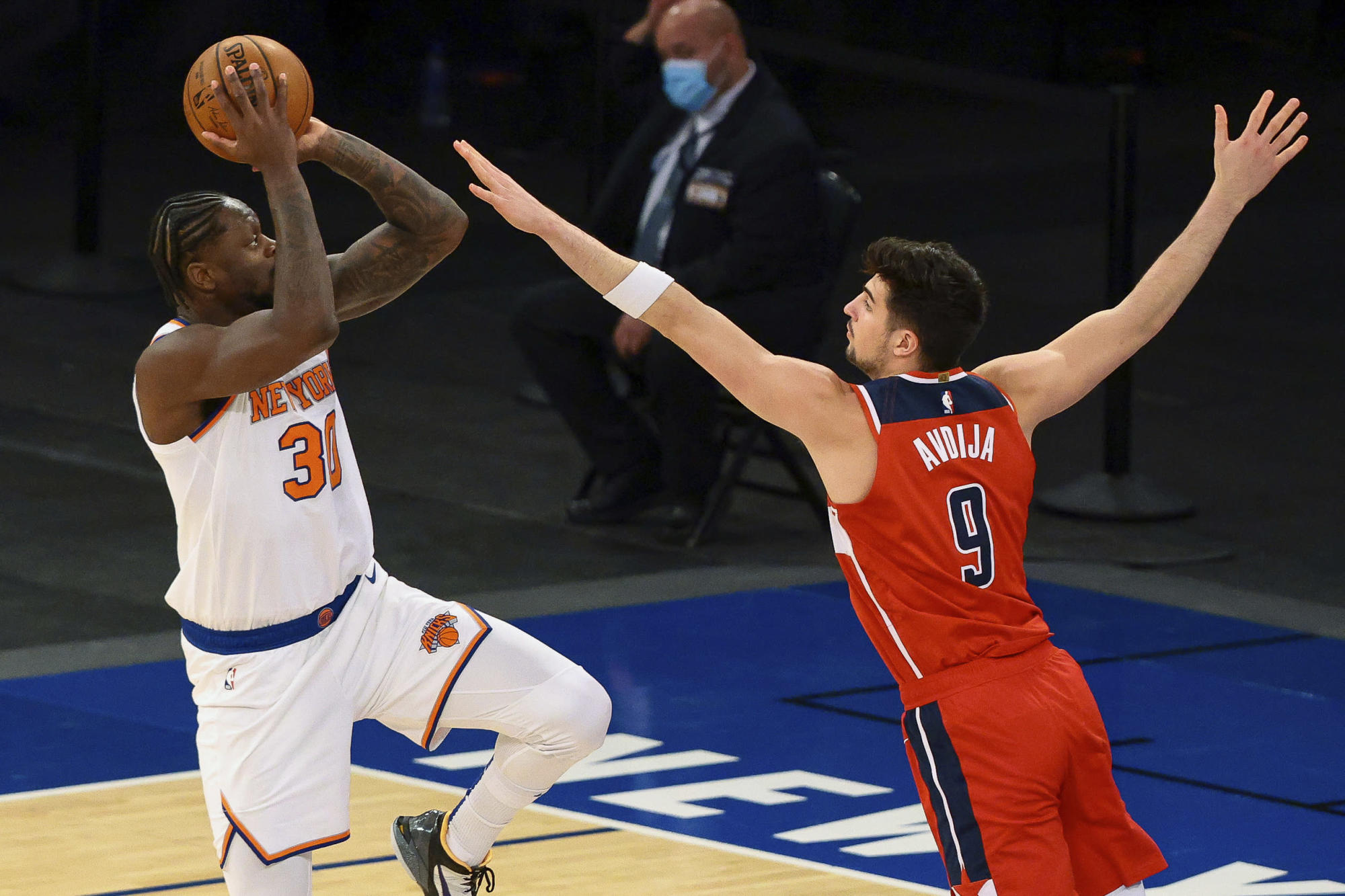 Randle scores 37, Knicks rout Wizards 131-113