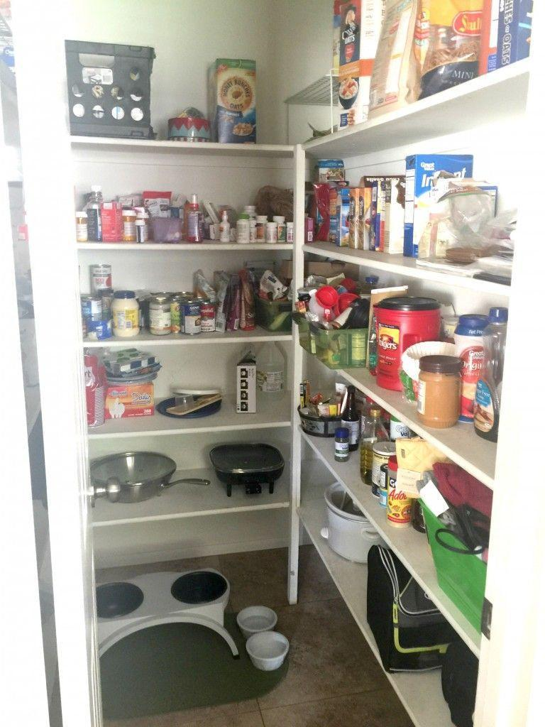 """<p>Even though this kitchen closet offered plenty of space, it was a place that the <a href=""""http://www.classyclutter.net/2015/10/how-to-organize-your-pantry/"""" rel=""""nofollow noopener"""" target=""""_blank"""" data-ylk=""""slk:homeowner"""" class=""""link rapid-noclick-resp"""">homeowner</a> avoided at all costs due to its sheer blandness.</p>"""