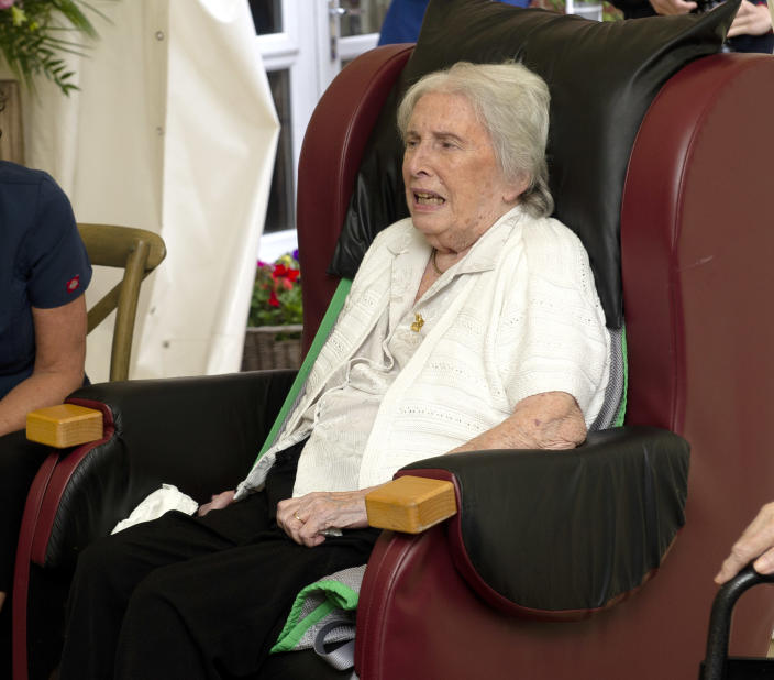 Joan Drew Smith told them exactly what she thought of their online bingo. (Getty Images)