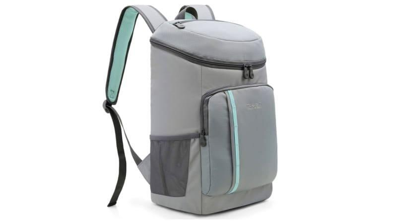 This soft-sided cooler backpack is perfect for hikes and beach days.