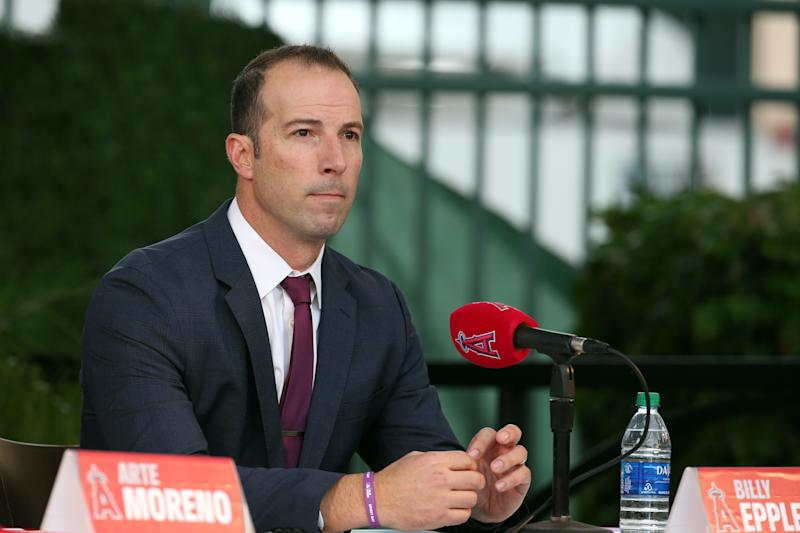 Los Angeles Angels general manager Billy Eppler