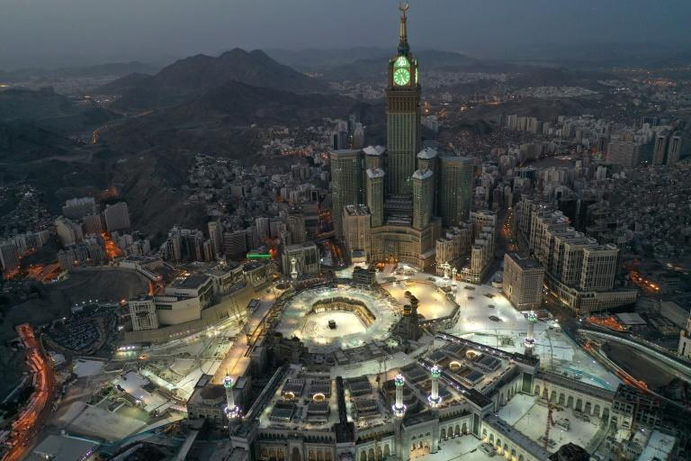 The Muslim holy city of Mecca is to remain under cororonavirus curfew and indoor prayers will continue to be banned but in the rest of Saudi Arabia the authorities are bringing two months of stringent restrictions to an end (AFP Photo/STR)