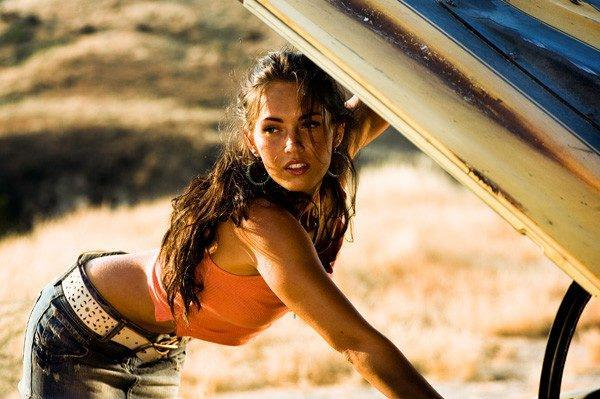 Megan Fox in Transformers (Credit: Paramount)