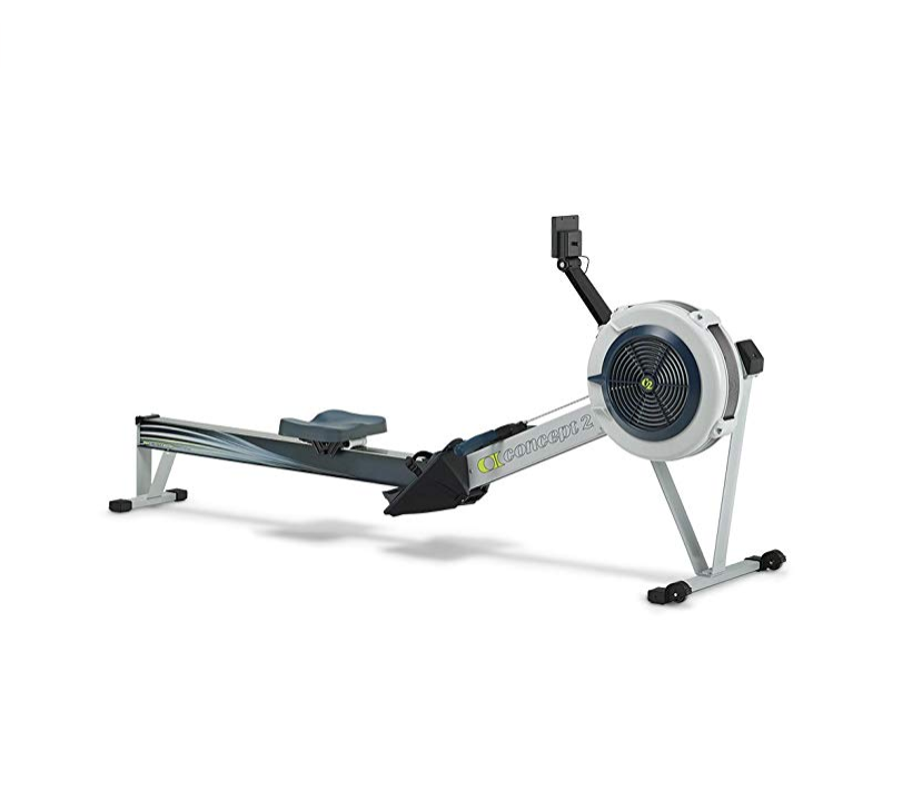 """<p><strong>Concept2</strong></p><p>amazon.com</p><p><a href=""""http://www.amazon.com/dp/B00OUGNUO8/?tag=syn-yahoo-20&ascsubtag=%5Bartid%7C2139.g.26014893%5Bsrc%7Cyahoo-us"""" target=""""_blank"""">BUY IT HERE</a></p><p>The Concept2 Model D is one of the best-selling indoor rowing machines out there, for good reason. You'll get a smooth ride with minimal noise, plus adjustable footrests and an ergonomic handle for maximum comfort. Once you've finished your workout, it separates into two pieces for easy storage.</p>"""