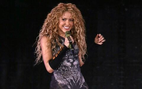 Shakira performing in concert at Madison Square Garden - Credit: Greg Allen/Invision/AP File