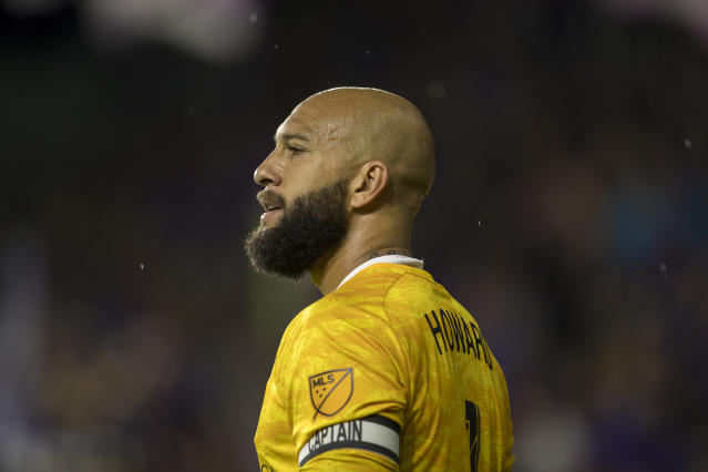Tim Howard is closing in on the final few games of his stellar 21-year career. (Joe Petro/Getty)