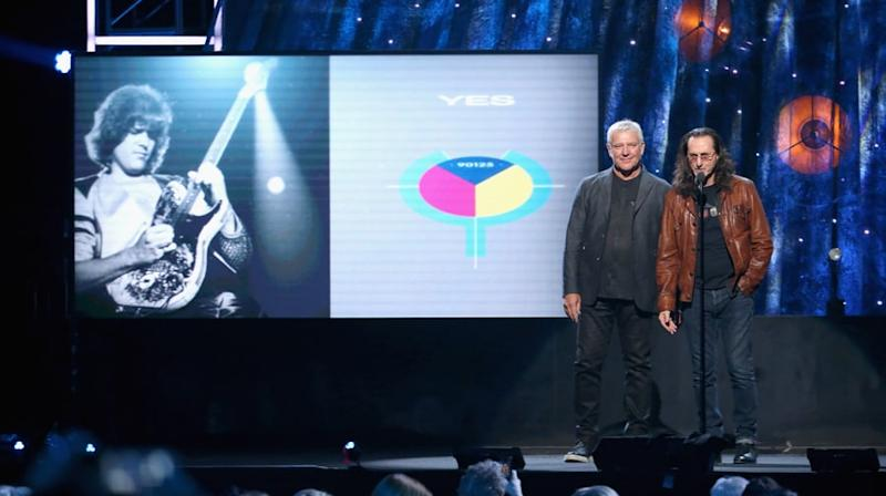Watch Geddy Lee, Alex Lifeson's Yes Tribute in Rock Hall Induction Speech