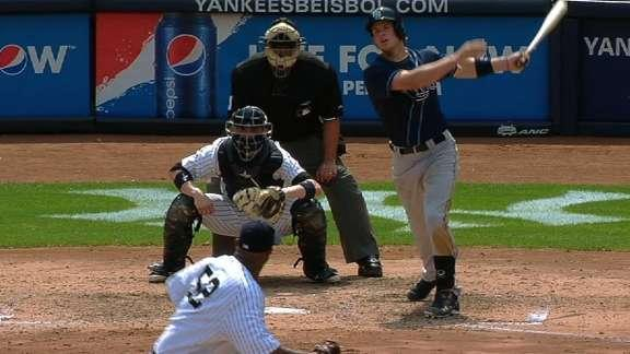 Wil Myers hits first career home run — a grand slam off C.C. Sabathia at Yankee Stadium