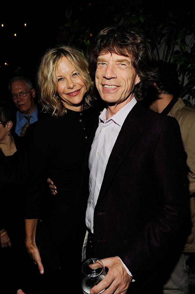 "<a href=""http://movies.yahoo.com/movie/contributor/1800017434"">Meg Ryan</a> and <a href=""http://movies.yahoo.com/movie/contributor/1800063442"">Mick Jagger</a> at the New York City Cinema Society Screening of <a href=""http://movies.yahoo.com/movie/1809926850/info"">The Women</a> - 09/11/2008"
