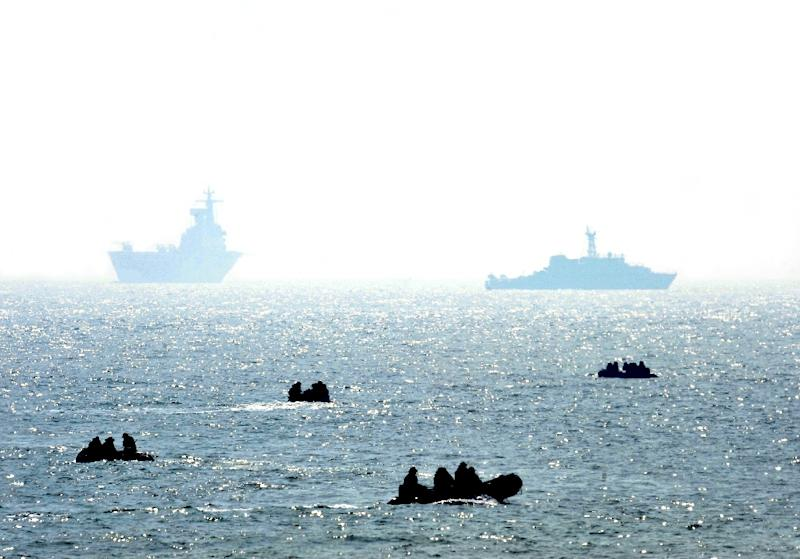 The 2010 sinking of the Cheonan sparked a search for off South Korea's Baengnyeong island, near the border with the North (AFP Photo/KIM JAE-HWAN)
