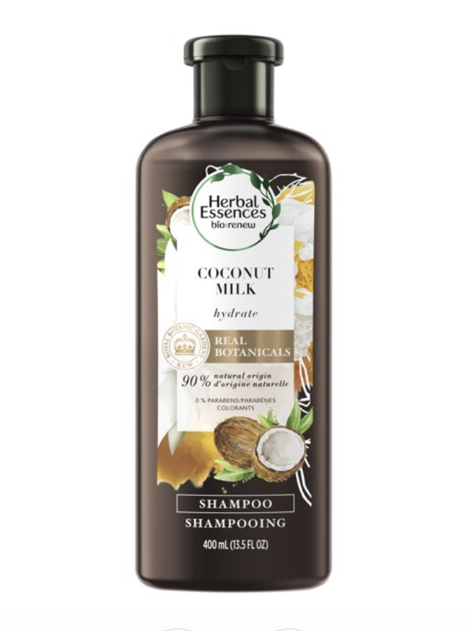 """<p><strong>Herbal Essences</strong></p><p>walmart.com</p><p><strong>$4.97</strong></p><p><a href=""""https://go.redirectingat.com?id=74968X1596630&url=https%3A%2F%2Fwww.walmart.com%2Fip%2FHerbal-Essences-bio-renew-Hydrating-Coconut-Milk-Shampoo-13-5-fl-oz%2F165542271&sref=https%3A%2F%2Fwww.goodhousekeeping.com%2Fbeauty-products%2Fg32715498%2Fbest-shampoos-brands%2F"""" rel=""""nofollow noopener"""" target=""""_blank"""" data-ylk=""""slk:Shop Now"""" class=""""link rapid-noclick-resp"""">Shop Now</a></p><p>Herbal Essences' intensely nourishing coconut and aloe shampoo (plus its matching conditioner) won for being the most moisturizing in the GH Beauty Lab's test of hydrating shampoos and <a href=""""https://www.goodhousekeeping.com/beauty-products/g26212823/best-conditioner-for-dry-hair/"""" rel=""""nofollow noopener"""" target=""""_blank"""" data-ylk=""""slk:conditioners"""" class=""""link rapid-noclick-resp"""">conditioners</a>. The shampoo lathered most and effectively cleansed and was <strong>the most conditioning formula in Lab measurements </strong>with the Instron machine, which gauges combing force in wet hair. """"My dry hair was <em>much </em>more moisturized,"""" one marveled.<br></p>"""