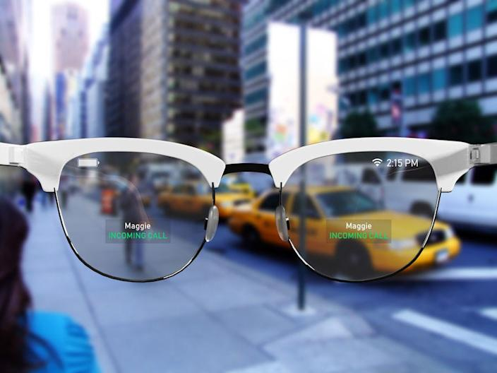 apple smart AR glasses concept