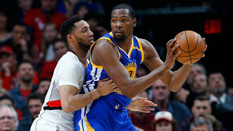 NBA playoffs: Kevin Durant looking forward to future Warriors vs. Trail Blazers series