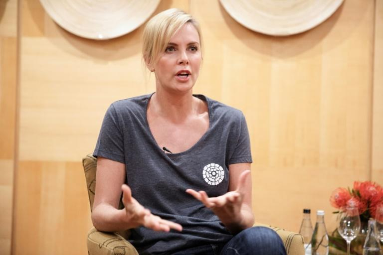 South African born actress and Academy Award winner Charlize Theron supports community-based HIV programmes to stop the spread of AIDS in her home country