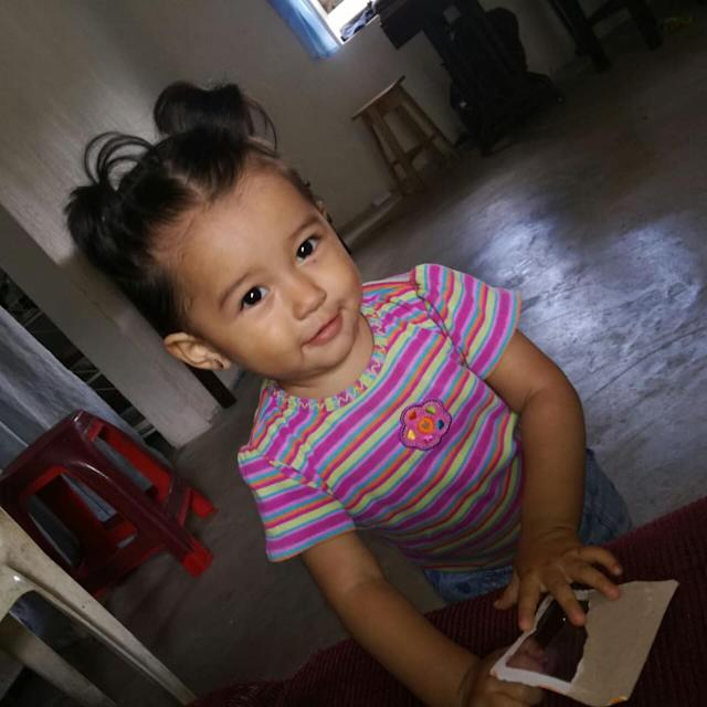 Mariee, the daughter of Yazmin Juarez, was only 19 months when she died. (Photo: Courtesy of Arnold & Porter)