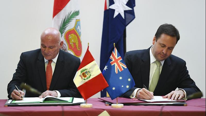 Australia and Peru sign free trade deal