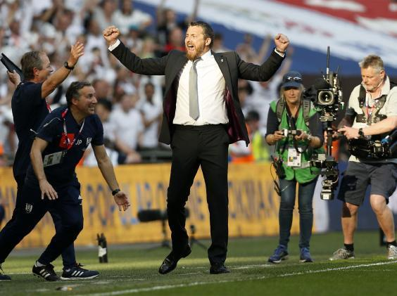 Fulham 'deserved' promotion to the Premier League says Slavisa Jokanovic
