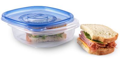"""Glad Entreé container,<a href=""""https://www.amazon.com/Glad-Food-Storage-Containers-Container/dp/B0014D0SWW?tag=%7Btag%7D"""" target=""""_blank"""">$2.79 for fiveonAmazon</a>"""