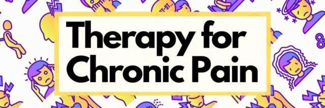 Therapy for chronic pain