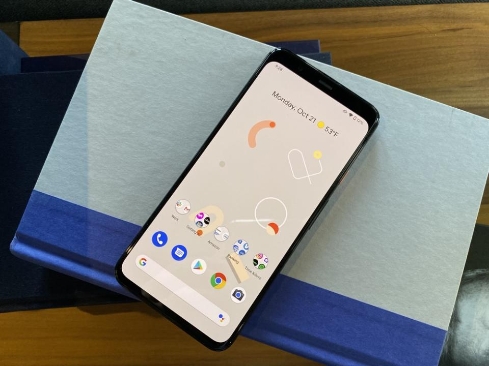 The Pixel 4 is a fantastic Android smartphone, despite some small flaws. (Image: Howley)
