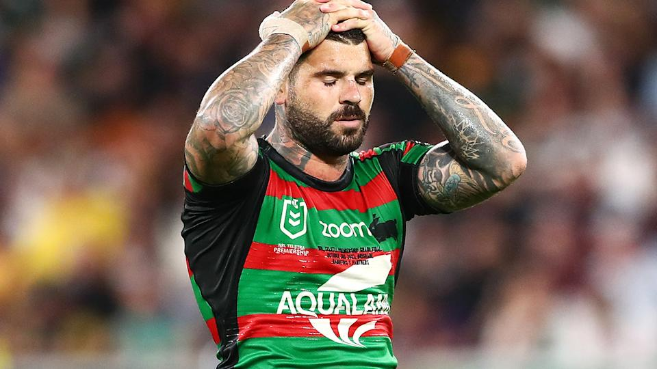 Adam Reynolds will be a difficult man to replace at South Sydney, coach Wayne Bennett says. (Photo by Chris Hyde/Getty Images)