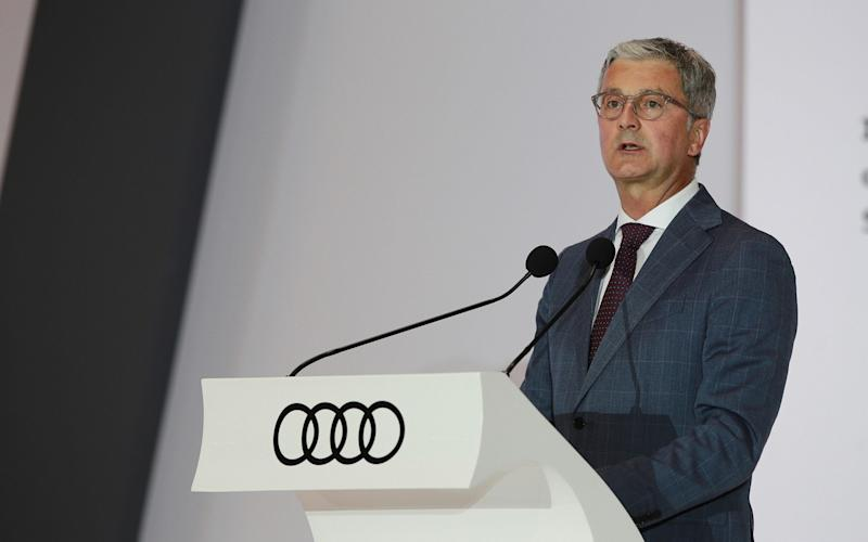 Audi chief Rupert Stadler has been taken into custody in one of the most high-profile arrests of the emissions scandal - Bloomberg