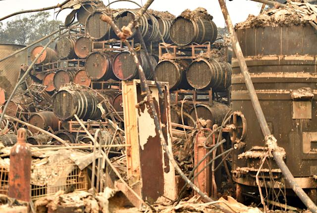 Sonoma and Napa Wineries Damaged by California Wildfires: Updated List