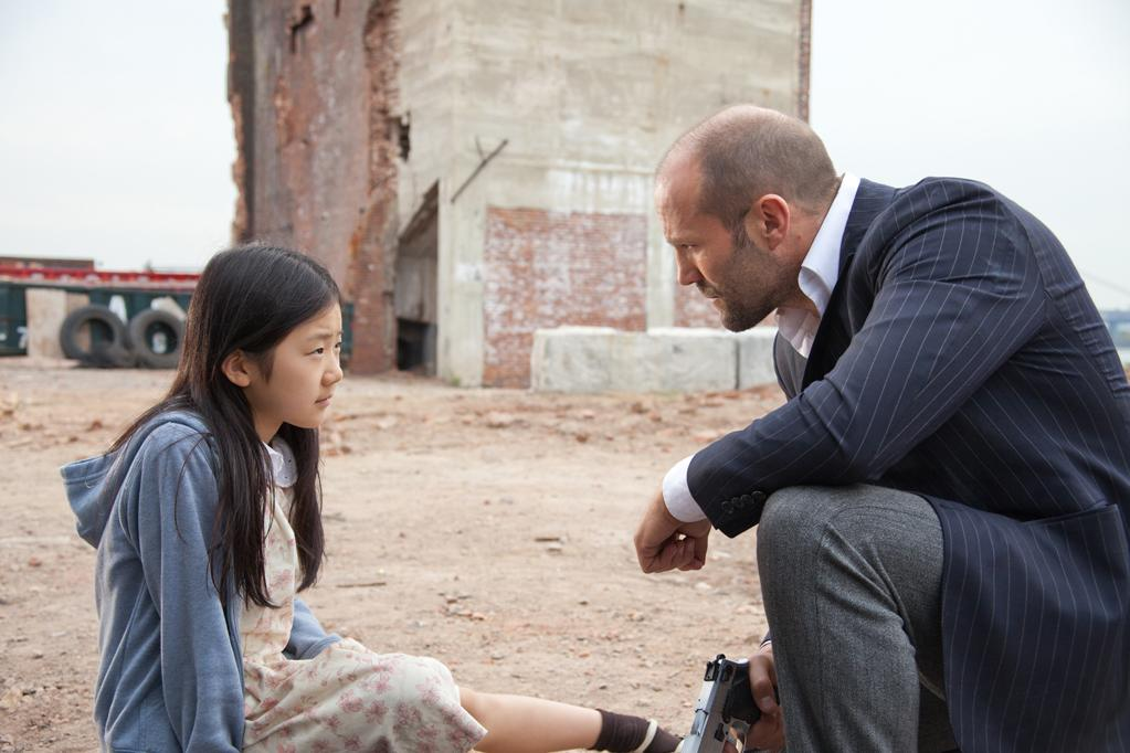 "Catherine Chan and Jason Statham in Lionsgate Picture's ""Safe"" - 2012"