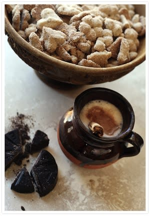 """<div class=""""caption-credit""""> Photo by: Jeannine Thurston</div><b>Biscochos</b> <br> Bisochos, or Mexican wedding cookies, are beloved and enjoyed by many different cultures around the holidays. They make a lovely gift, espcially when paired with Mexican hot chocolate. This is one of the oldest recipes for Mexican wedding cookies. <i>- Jeanine Thurston, Muy Bueno Cookbook</i> <br> <i><a href=""""http://www.babble.com/best-recipes/nine-traditional-recipes-for-a-latin-christmas/#biscochos"""" rel=""""nofollow noopener"""" target=""""_blank"""" data-ylk=""""slk:Get the recipe"""" class=""""link rapid-noclick-resp"""">Get the recipe</a></i> <br> <b><i><a href=""""http://www.babble.com/best-recipes/nine-traditional-recipes-for-a-latin-christmas/?cmp=ELP bbl lp YahooShine Main  100112   famE   """" rel=""""nofollow noopener"""" target=""""_blank"""" data-ylk=""""slk:For more recipes for a traditional Latin Christmas, visit Babble!"""" class=""""link rapid-noclick-resp"""">For more recipes for a traditional Latin Christmas, visit Babble!</a></i></b> <br>"""