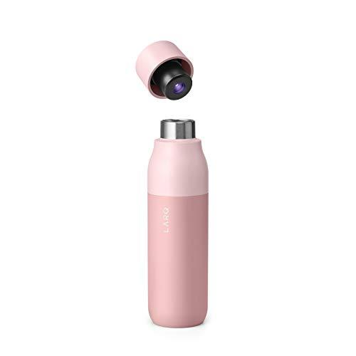 LARQ Insulated Self-Cleaning and Stainless Steel Water Bottle With UV Water Purifier, 17oz, Himalayan Pink (Amazon / Amazon)