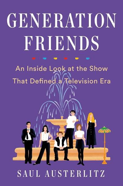 """Author takes deep dive into creation of TV show """"Friends"""""""