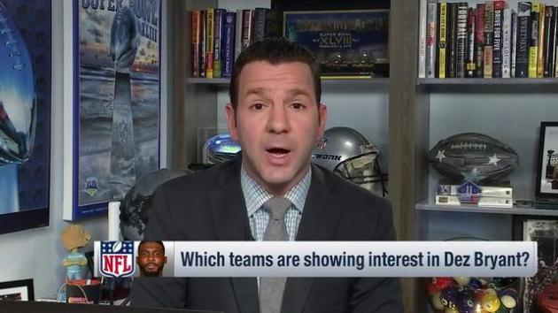 <p>Ian Rapoport: 'There's a lot to like' about wide receiver Dez Bryant possibly joining the Baltimore Ravens</p>