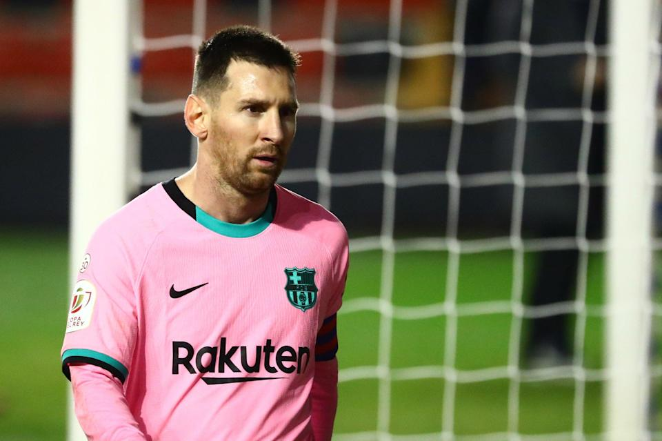 Messi is still the main man for BarcaREUTERS