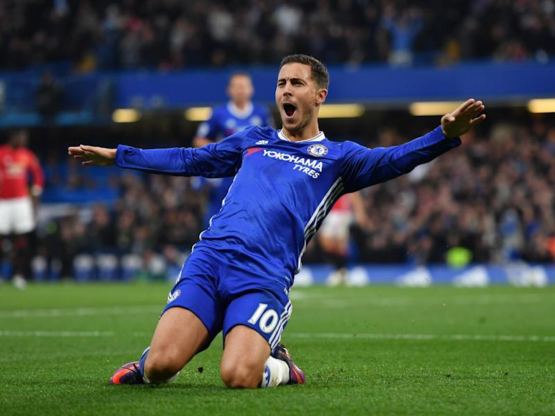 Hazard has been in fine form this season: Getty
