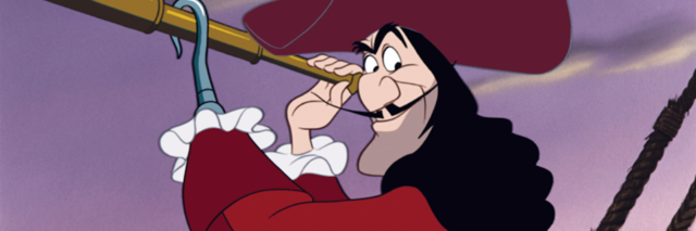 "Captain Hook from ""Peter Pan"""