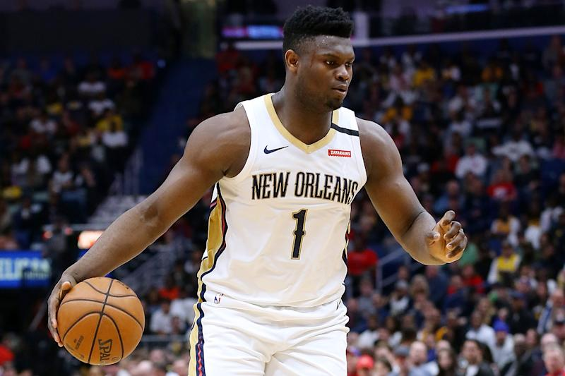 New Orleans Pelicans star Zion Williamson