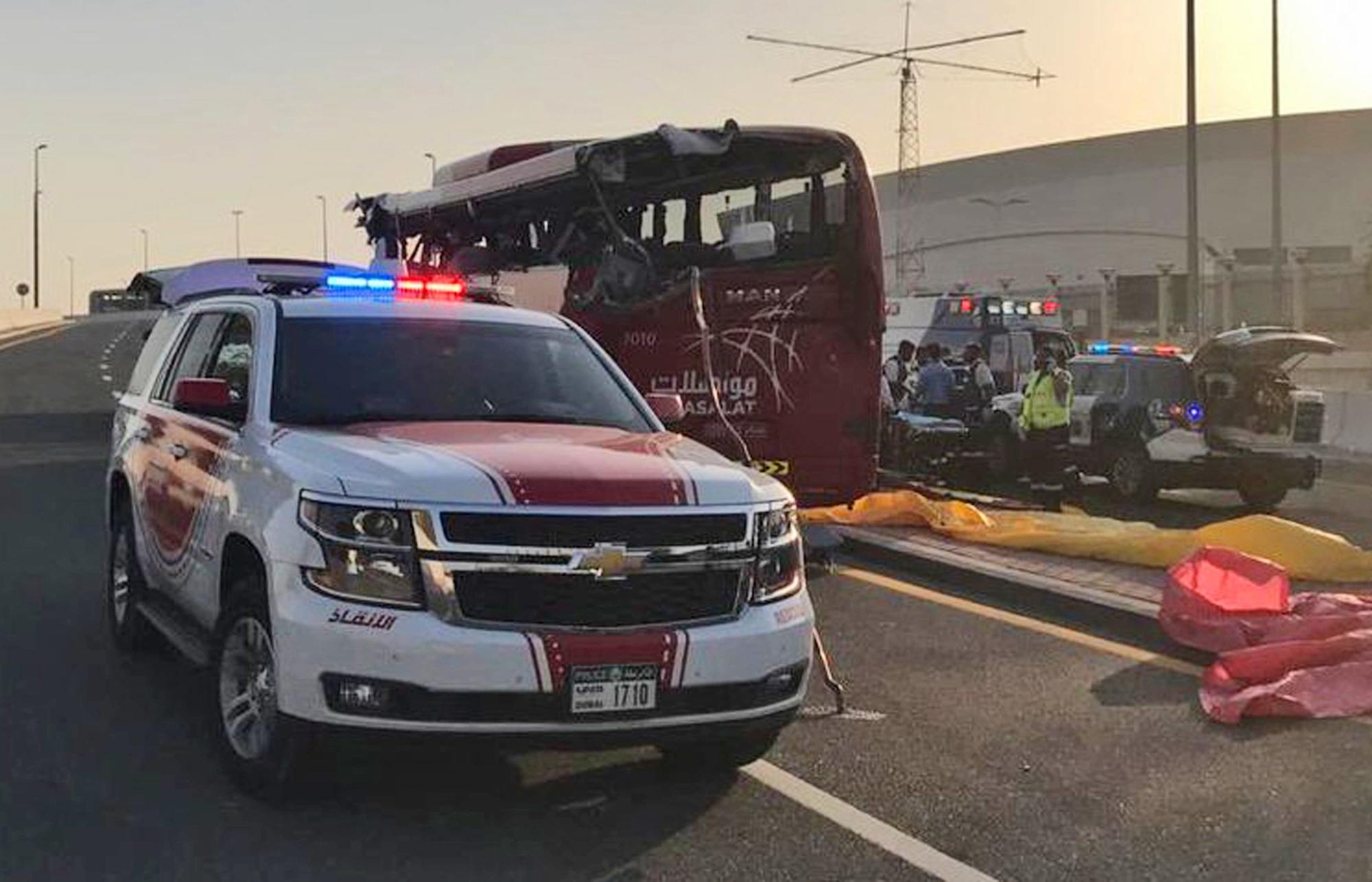 Sentence reduced for driver in fatal Dubai bus crash case