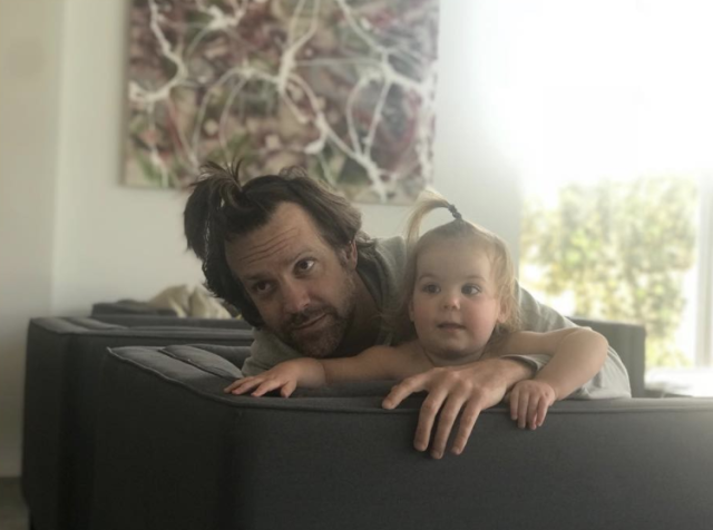 "<p>""I do hair,"" the actress joked, posting a pic of husband Jason Sudeikis and their 1-year-old daughter, Daisy, both with top ponytails. ""DM for inquiries. *Clients tend to sob and/or undo my work immediately,"" she added. (Photo: <a href=""https://www.instagram.com/p/BgfHDIQncZE/?taken-by=oliviawilde"" rel=""nofollow noopener"" target=""_blank"" data-ylk=""slk:Olivia Wilde via Instagram"" class=""link rapid-noclick-resp"">Olivia Wilde via Instagram</a>) </p>"
