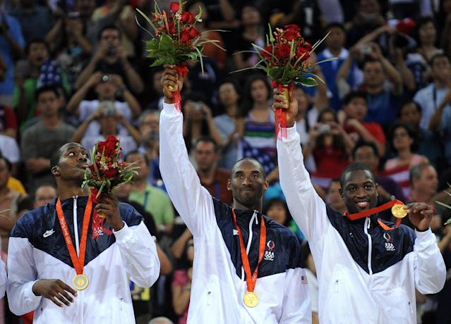 Dwyane Wade is producing a documentary on Team USA's gold medal run at the 2008 Olympics. (Filippo Monteforte/AFP/Getty Images)