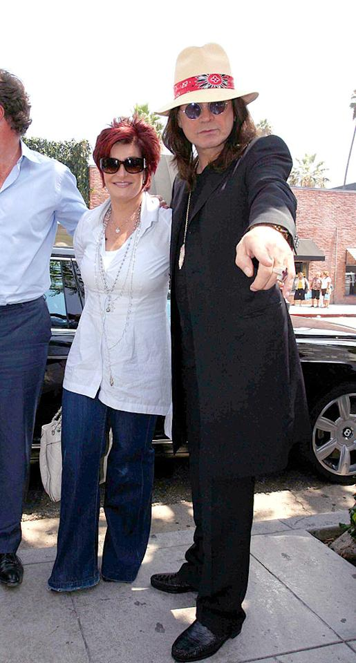 "Rock God Ozzy Osbourne and his wild wife Sharon also pop by the eatery for a nibble. <a href=""http://www.infdaily.com"" target=""new"">INFDaily.com</a> - September 7, 2008"