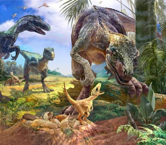 Most Primitive Dinosaur Embryos Discovered