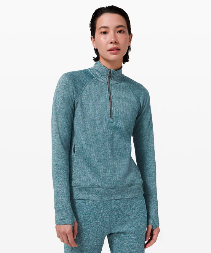 Engineered Warmth 1/2 Zip. Image via Lululemon.